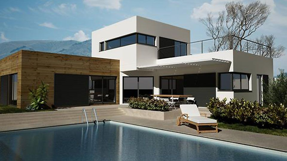 Une maison écolo-contemporaine Exterieur Pinterest Modern and - hygrometrie dans une maison
