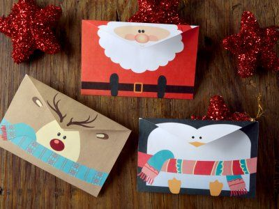C mo hacer tarjetas navide as para imprimir natal and - Como hacer tarjetas navidenas originales ...