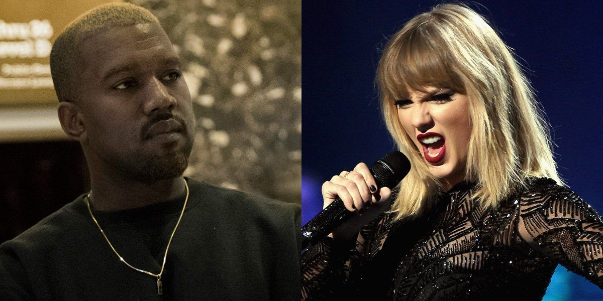 Taylor Swift And Kanye West Feud Explained Taylor Swift Taylor Swift Kanye West Kanye West