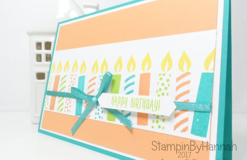 StampinByHannah Email Subscriber Exclusive Birthday Card Using Picture Perfect From Stampin Up