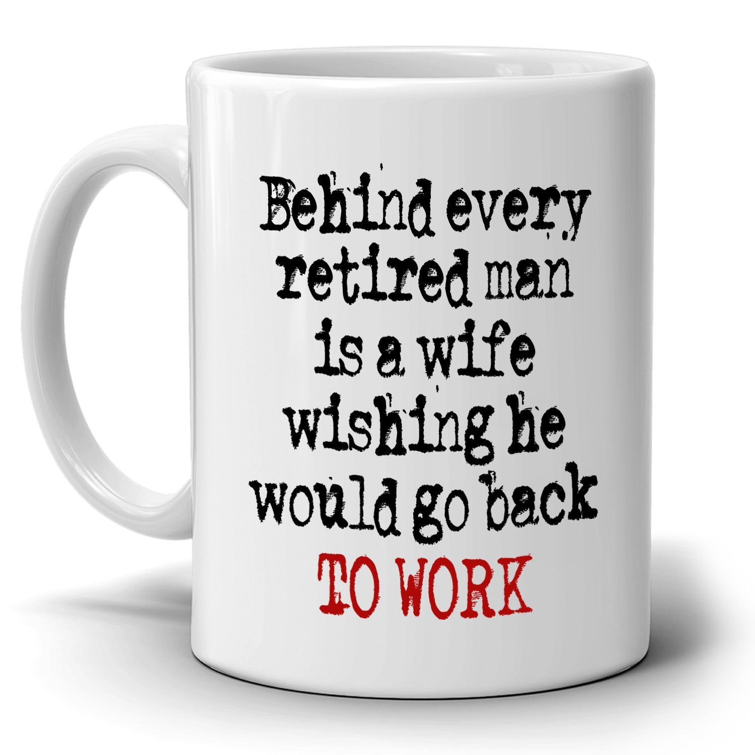 Funny Retired Husband And Wife Retirement Gifts Couples Retiree Mug Printed On Both Sides Retirement Humor Husband Humor Funny Retirement Gifts