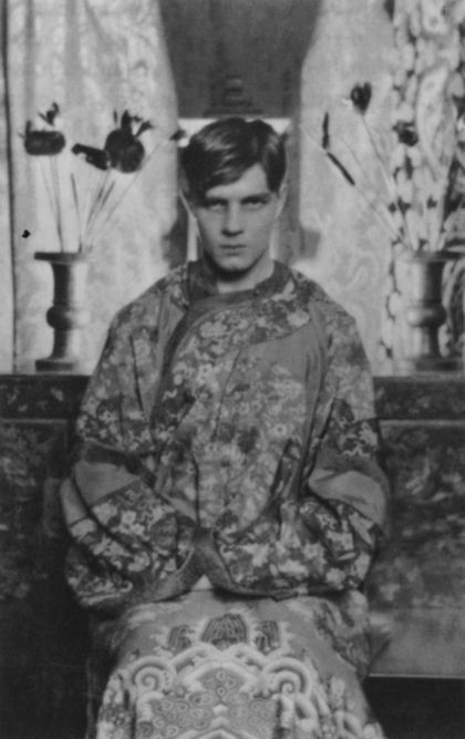 Steven Runciman At Cambridge In 1925 Photographed By Cecil Beaton Vintage Portraits Cecil Beaton Bw Photography