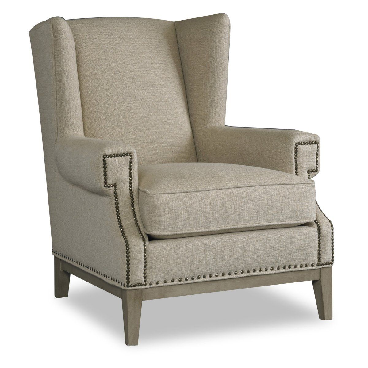 Sam Moore Zahara Wing Chair - Natural