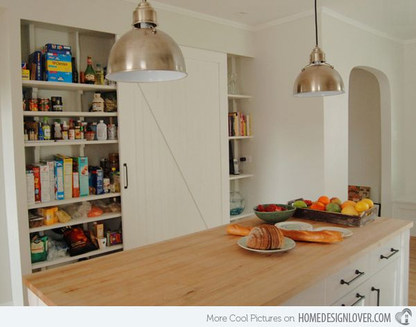 15 classic to modern kitchen pantry ideas