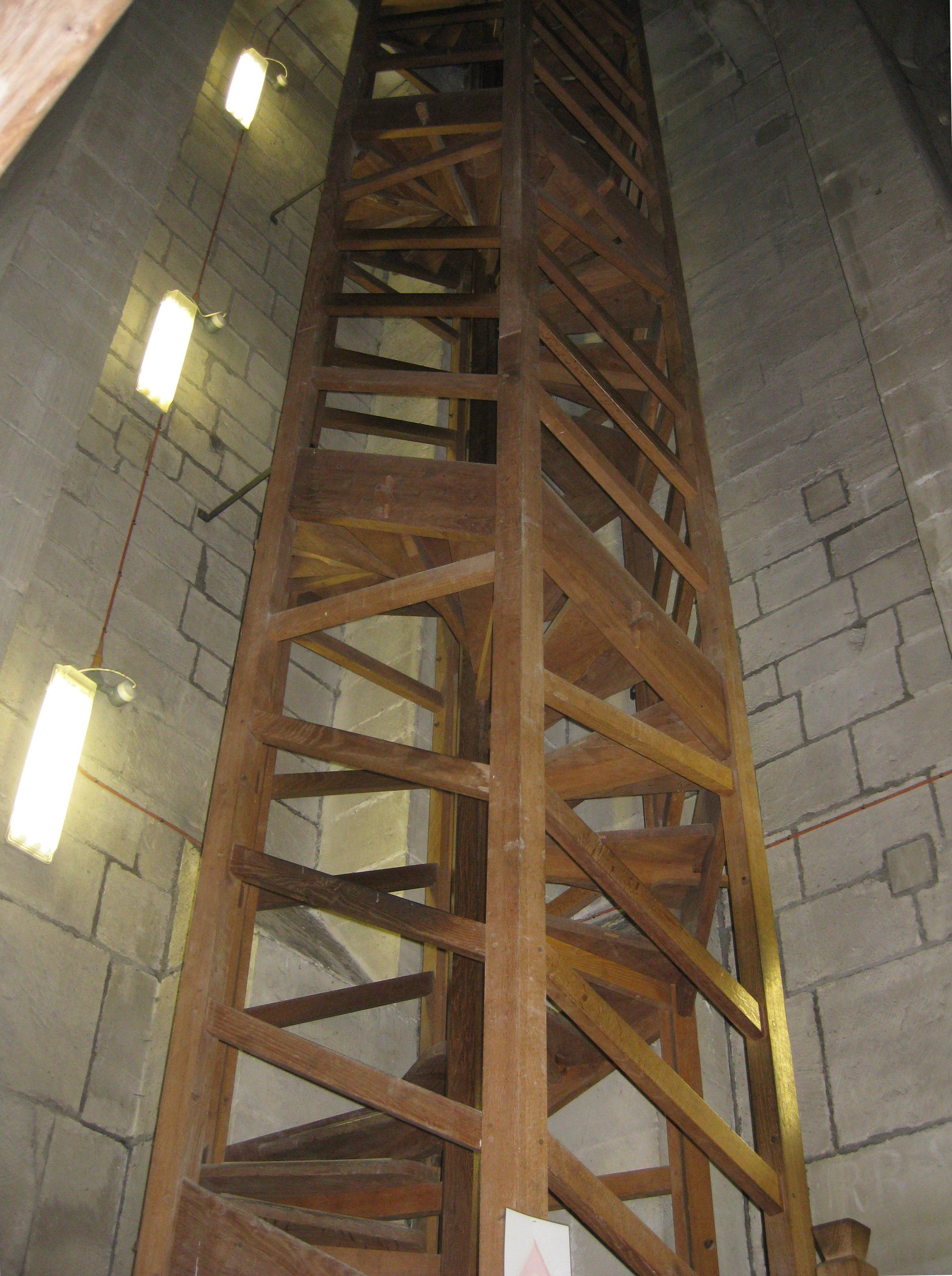 Lovely Decoration Salisbury Cathedral Spiral Staircase Indoor Tower Staircase  Very Simple Traditional Staircase Space Saving Natural Wood Finish Spiral  Staircase  ...