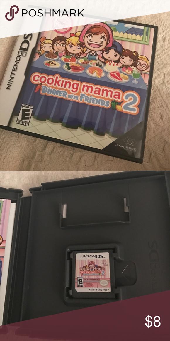 Nintendo game: cooking mama 2.