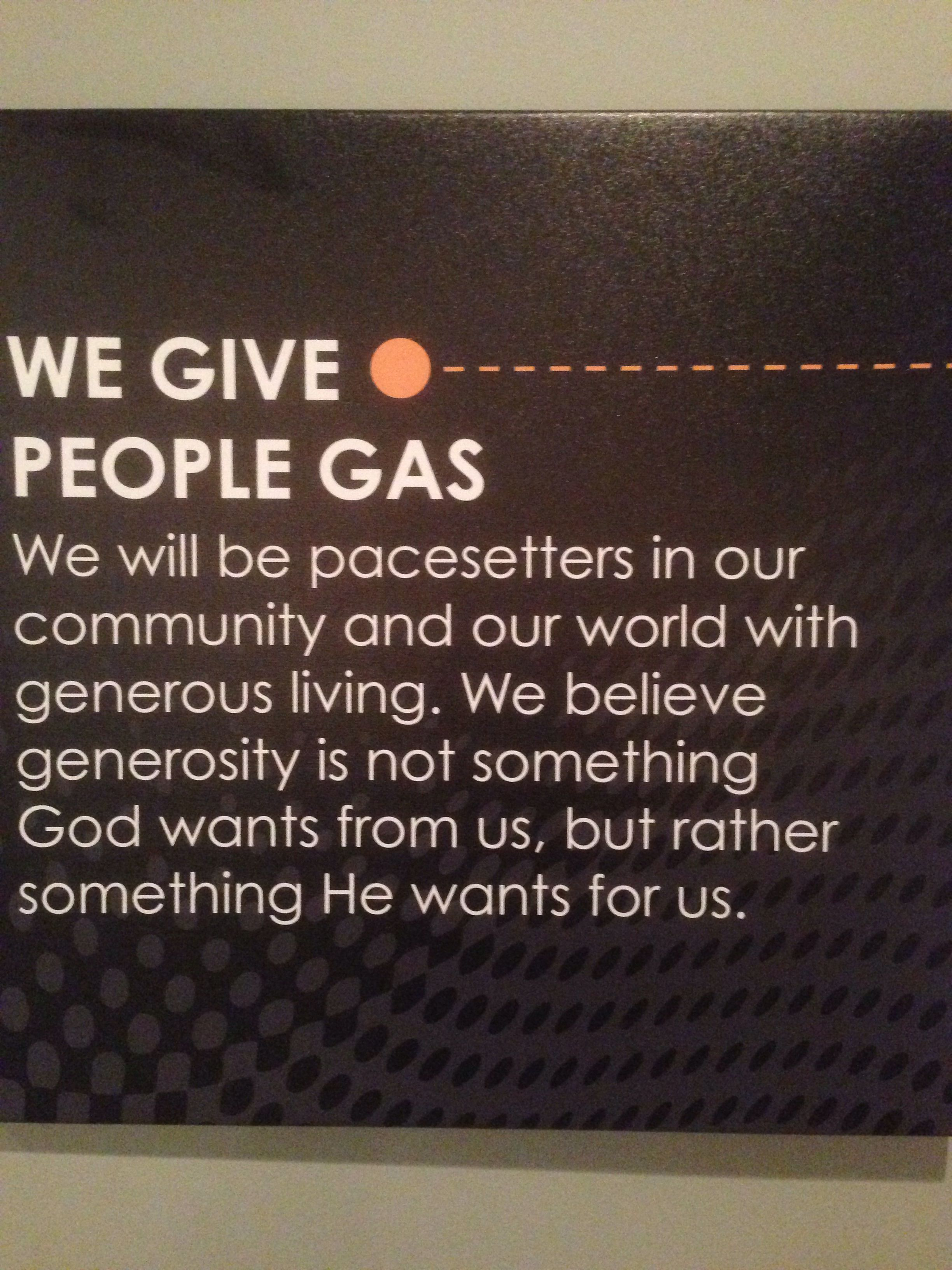 saw this at lifepoint church in wilmington from nc recently yeah