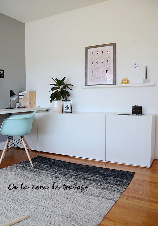 Arbeitszimmer gästezimmer einrichten  Muebles versátiles para decorar tu casa   Büro gästezimmer, Büros ...