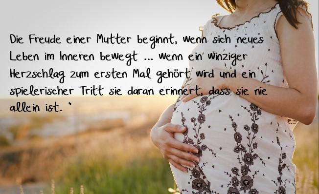 Zitat schwangerschaft