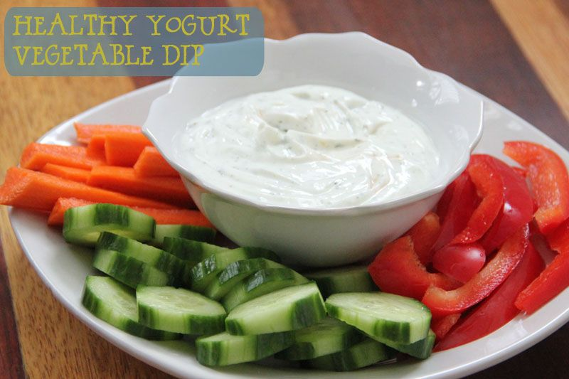 Healthy Yogurt Vegetable Dip Recipe Healthy Yogurt Recipes Vegetable Dip