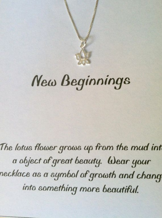 Sterling Silver Lotus Blossom Necklace Good Luck Charm Yoga Best