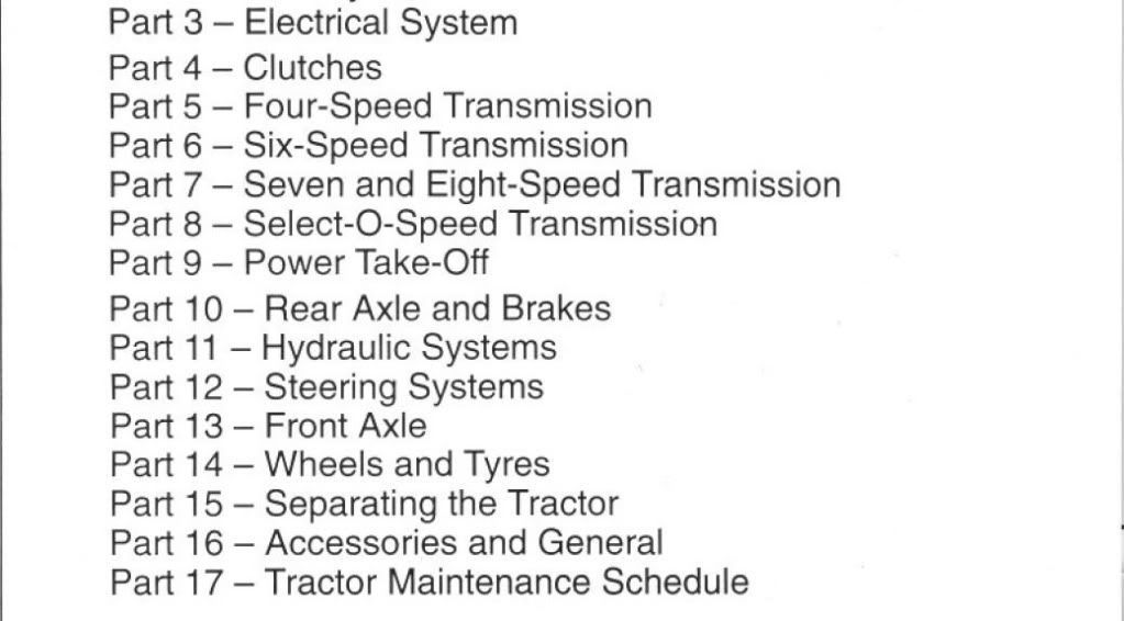 Ford 5000 Tractor Owners Manual Pdf 8 Owners Manuals Tractors Hydraulic Systems