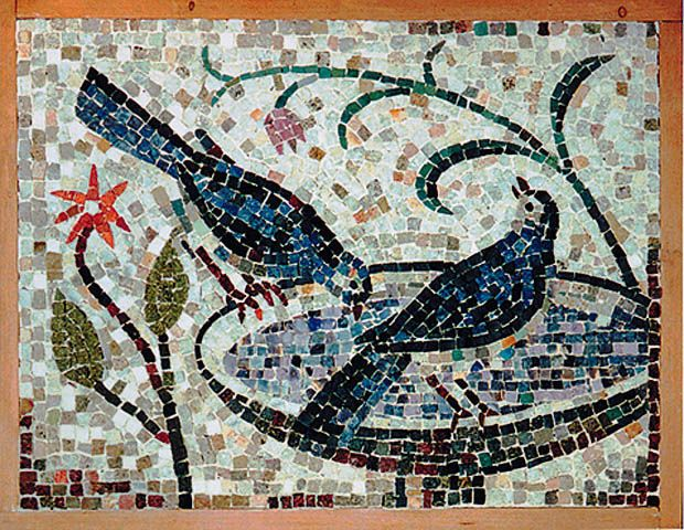 Mosaic Tile Artwork   Tile Design Ideas