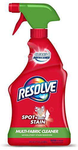 Resolve Multi Fabric Cleaner Upholstery Stain Remover 22 Oz Stain Remover Carpet Cleaning Upholstery Carpet Cleaners