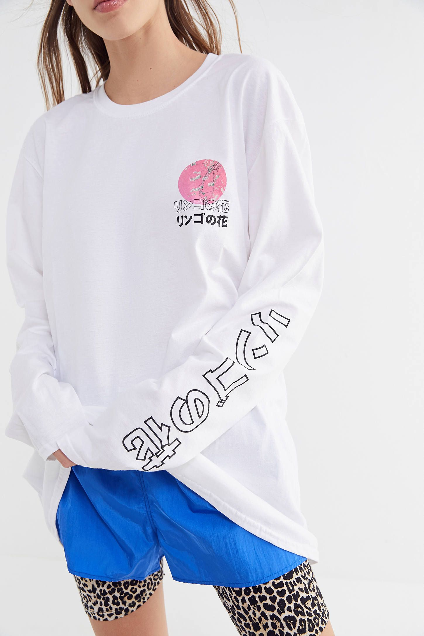 fe747ac52f679 Apple Blossom Long Sleeve Tee in 2019