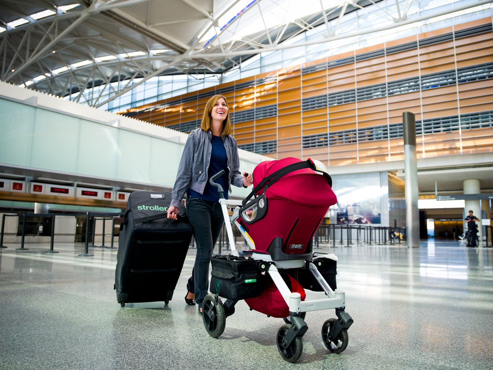 Stroller Travel System G2 (SFO Airport), 2010 (With images
