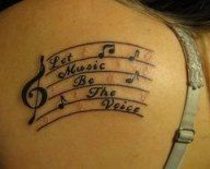 Trendy music note tattoo for girls treble clef 25+ Ideas #tattoo #music