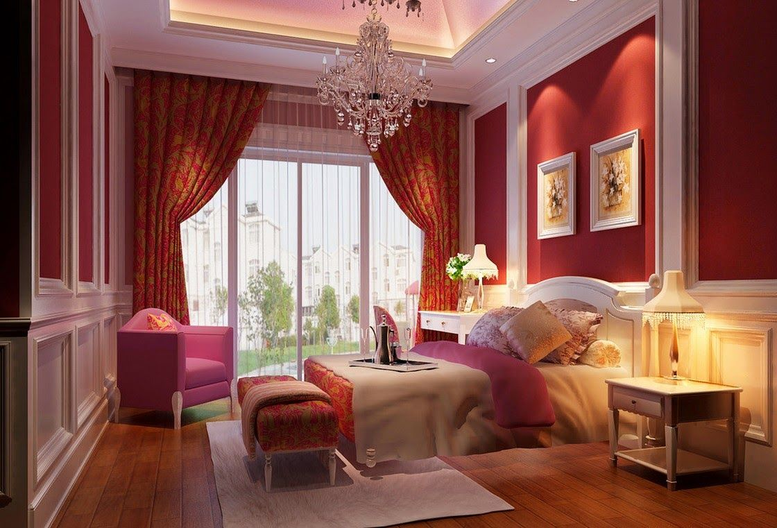 Romantic bedroom decor - Romantic Bedroom Nothing Can Be Better For Newlyweds Bedroom Decorating Ideas And Designs