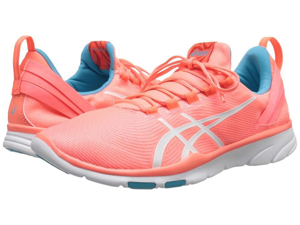 ASICS ASICS - GEL-FIT SANATM 2 (FLASH CORAL/WHITE/SCUBA BLUE