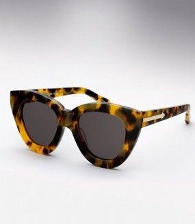 Karen Walker Anytime Sunglasses - Tortoise