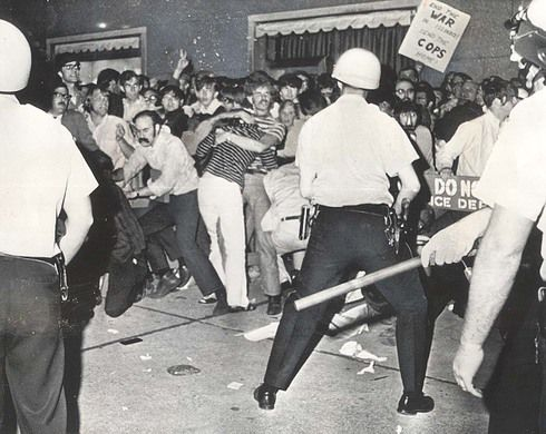1968 Riots Break Out During The 1968 Democratic National
