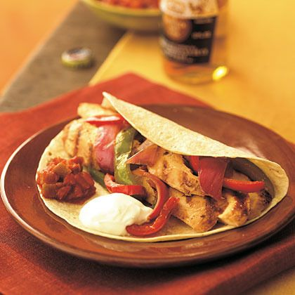 Sizzling Chicken Fajitas by Cooking Light