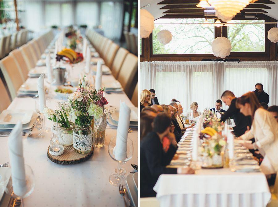 23 06 2015 Katarzyna I Krystian Slub Gdansk Wesele Sentoza Golf Michal Iwaszko Fotografia Ps5 Table Decorations Table Settings Decor