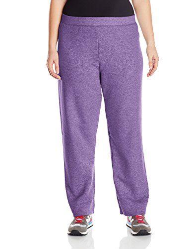Just My Size Women's Plus-Size Fleece Sweatpant at Amazon Women's Clothing store:
