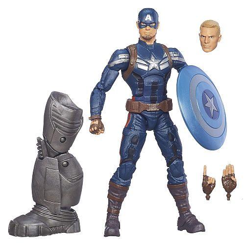"Captain America Marvel Legends Captain America Figure - Hasbro - Toys ""R"" Us"