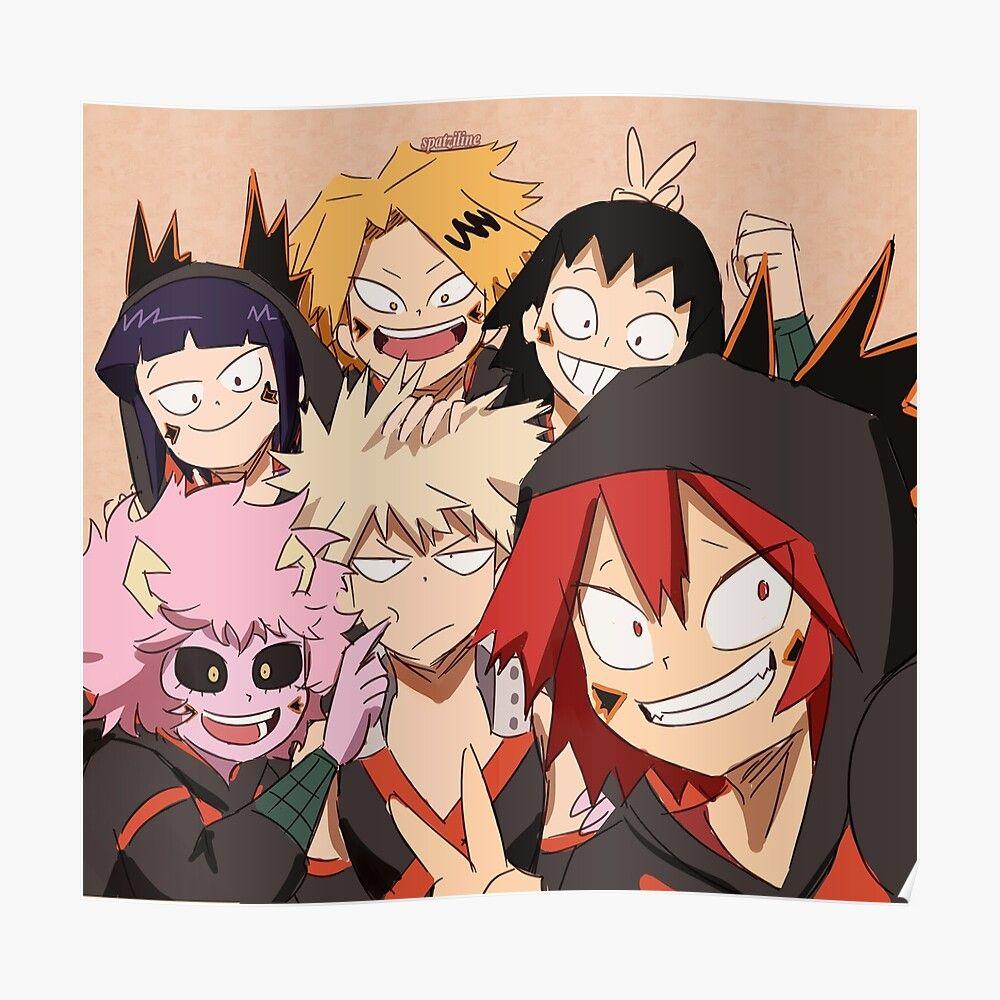 Bakusquad Selfie Throw Pillow By Spatziline Hero Wallpaper I Love Anime Aphmau Fan Art