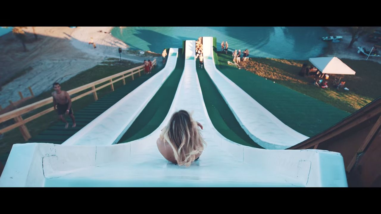 The Royal Flush is a huge waterslide at the BSR Park in Waco Texas. Yep, it's not just pickups and egos that are big in Texas, but there waterslides too!  You can check out the current pricing at the Royal Flush Website. Currently it's only $20 for an all-day pass on the slide. That&