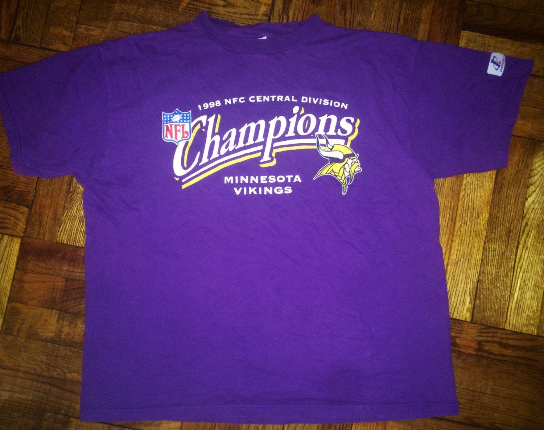 Vintage 1998 Minnesota Vikings TShirt jersey randall