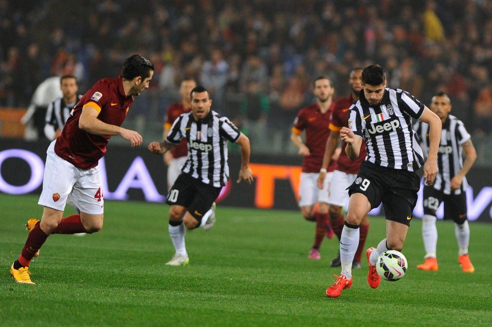 Serie A: Roma-Juve, le foto della partita
