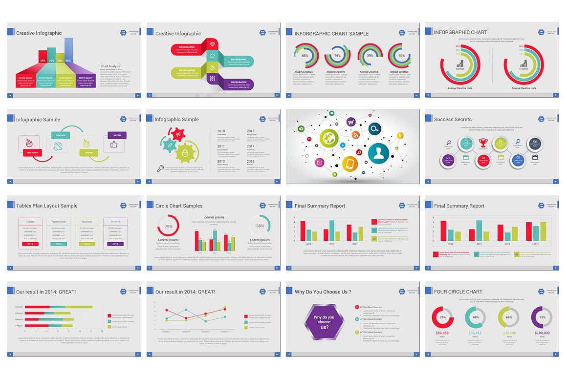 Business Annual Report Powerpoint With Images Annual Report
