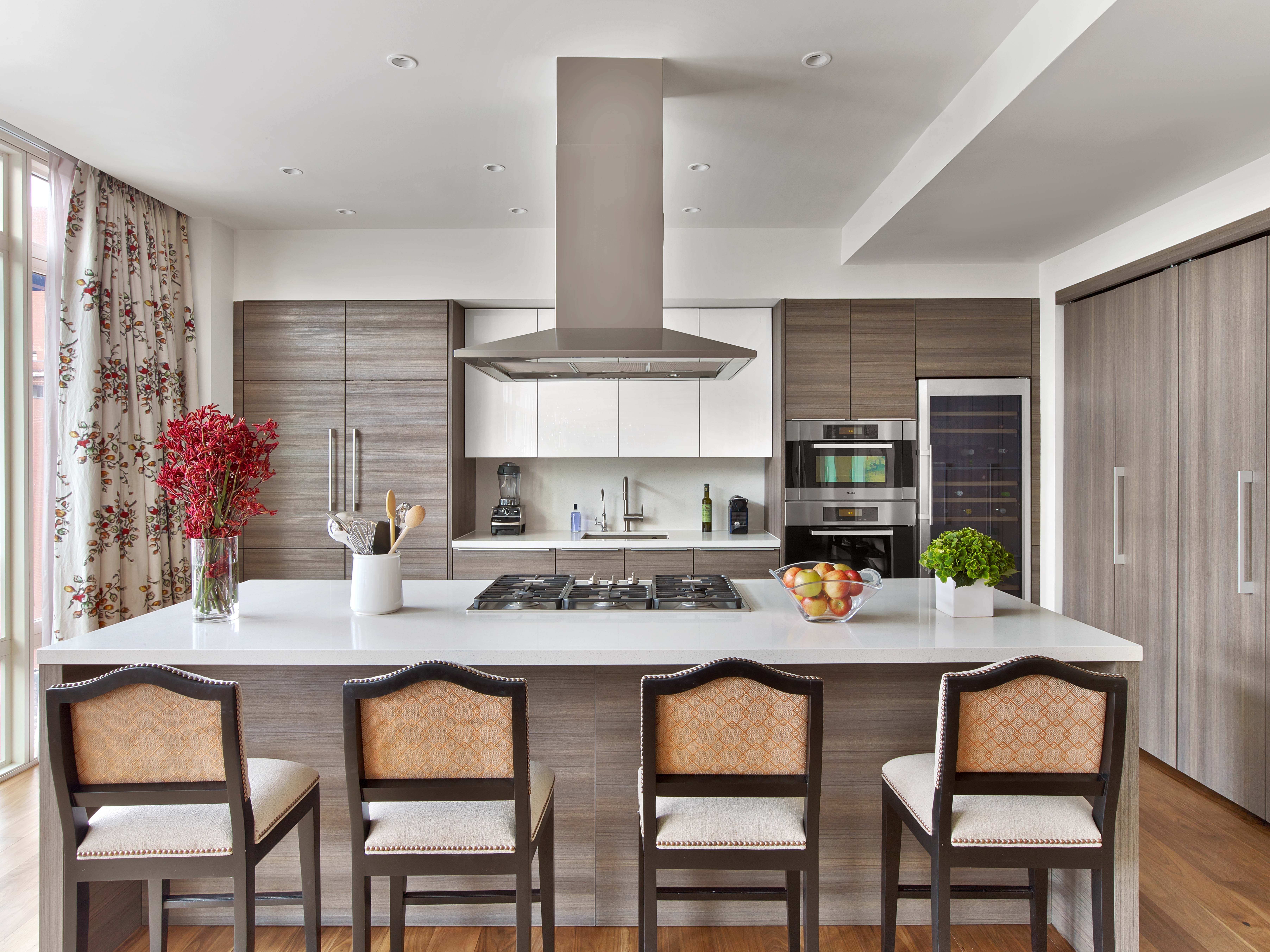 Chelsea Penthouse Kitchen Kati Curtis Design NYC Interior