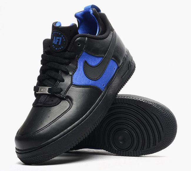 online retailer 49856 ee8e6 air-force-1-cmft-huarache-black-lyon-blue-705063-001-3 | The ...