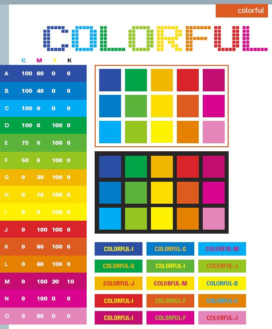 Colors Combinations: Colorful Color Schemes, Color Combinations