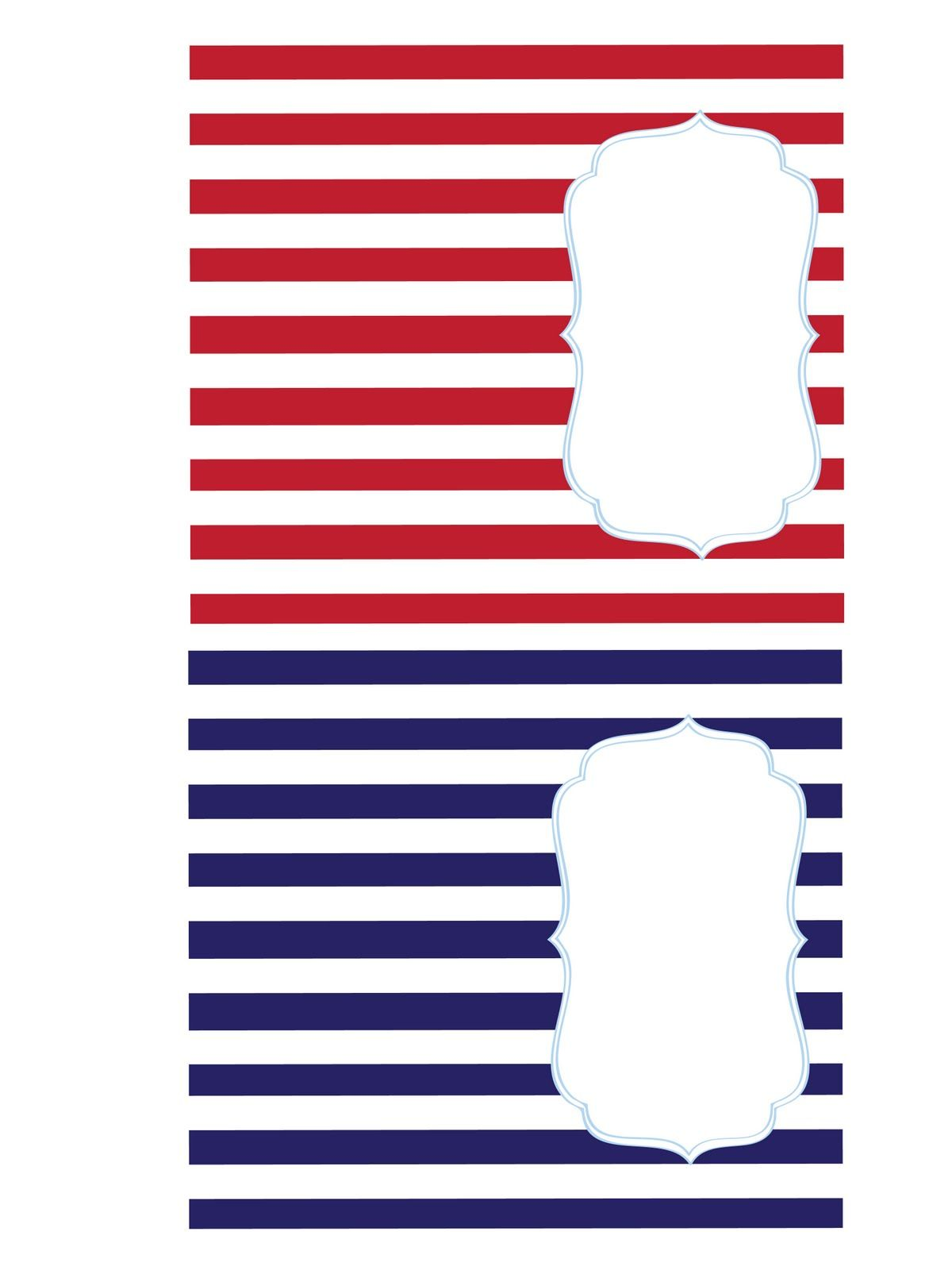 Paperbox Press Parties: FREE 4th of July Printables!