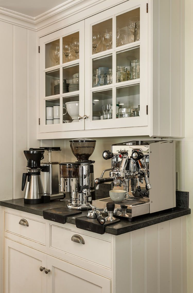 30+ Stylish Home Coffee Bar Ideas (Stunning Pictures