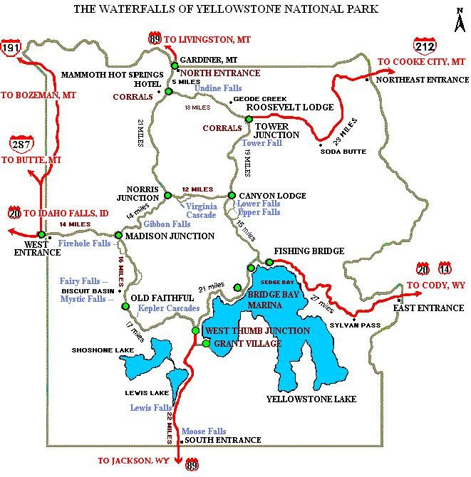 Map of the major waterfalls in YNP   Things for Yellowstone ... Yellowstone Park Map Usa on new haven map usa, jamestown map usa, cheyenne map usa, wyoming map usa, oregon map usa, new york map usa, deer map usa, montana map usa, omaha map usa, national parks map usa, tacoma map usa, boise map usa, columbia map usa, evansville map usa, national map of usa, baltimore map usa, little rock map usa, grand canyon map usa, austin map usa, oklahoma city map usa,