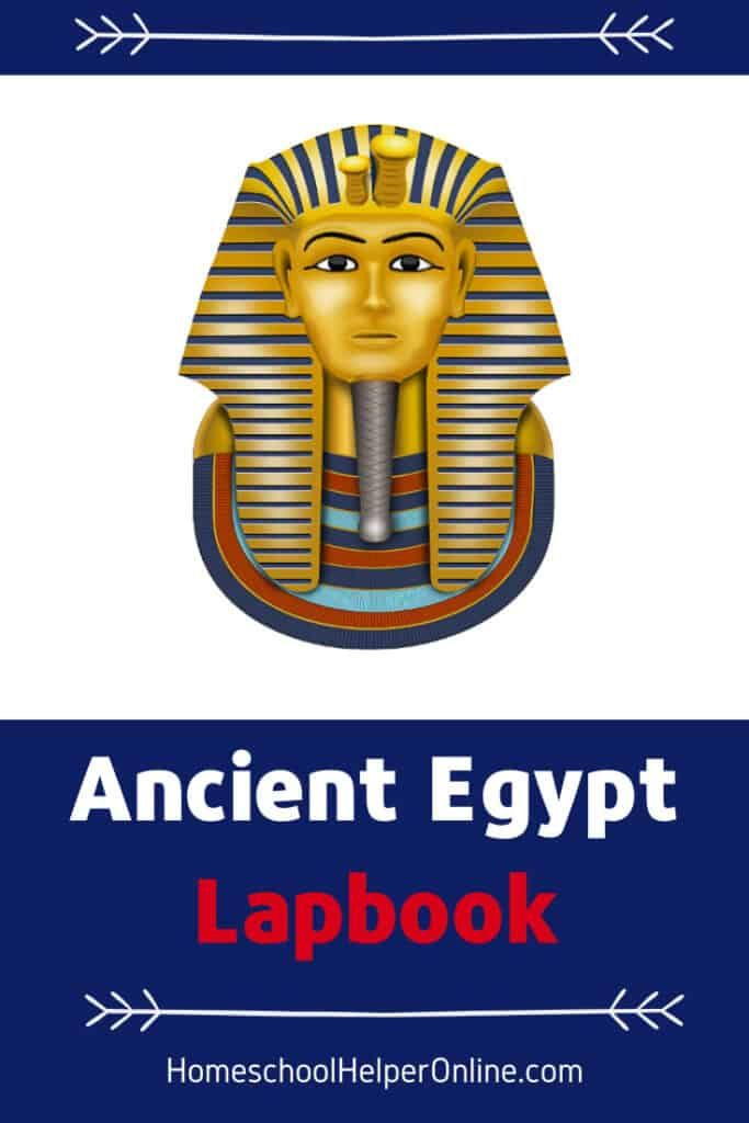 Ancient Egypt Lapbook - Homeschool Helper Online in 2020 ...