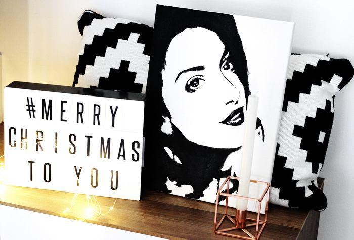 Dekoration Weihnachten Malen