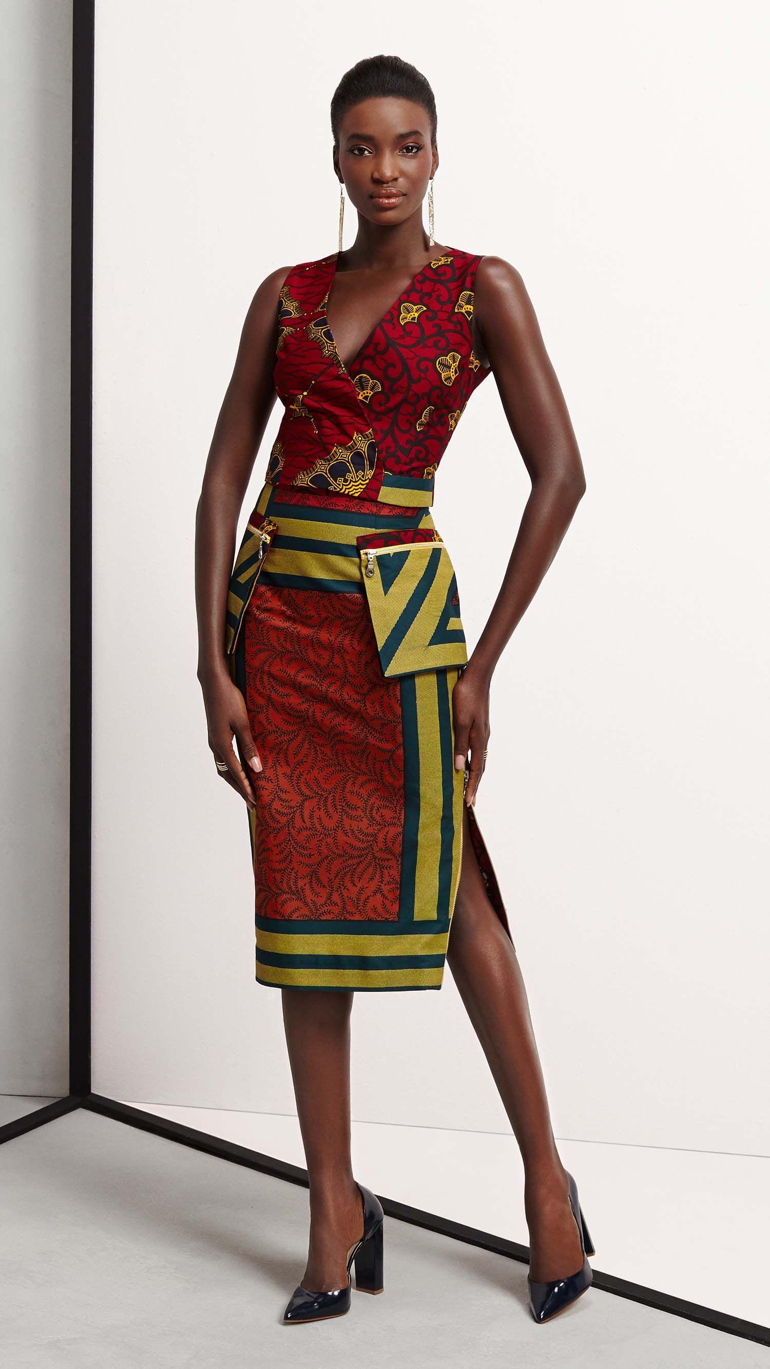 Vlisco V Inspired African Fashion Ankara Kitenge African Women Dresses African Prints
