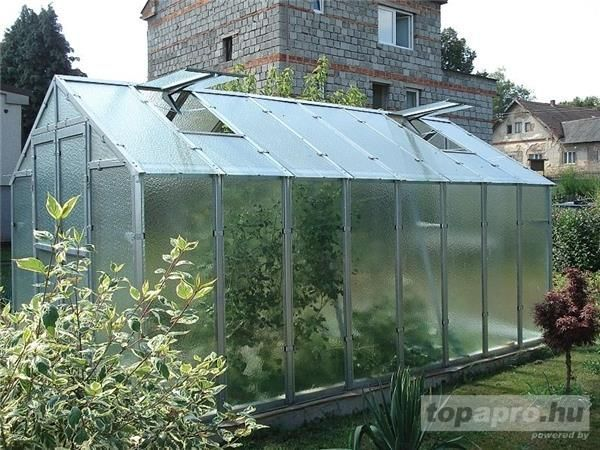 Basic construction (galvanized frame with glass) includes:- …