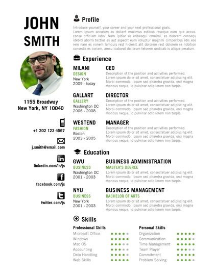 Creative Resumes Google Search Resume Creative Resume