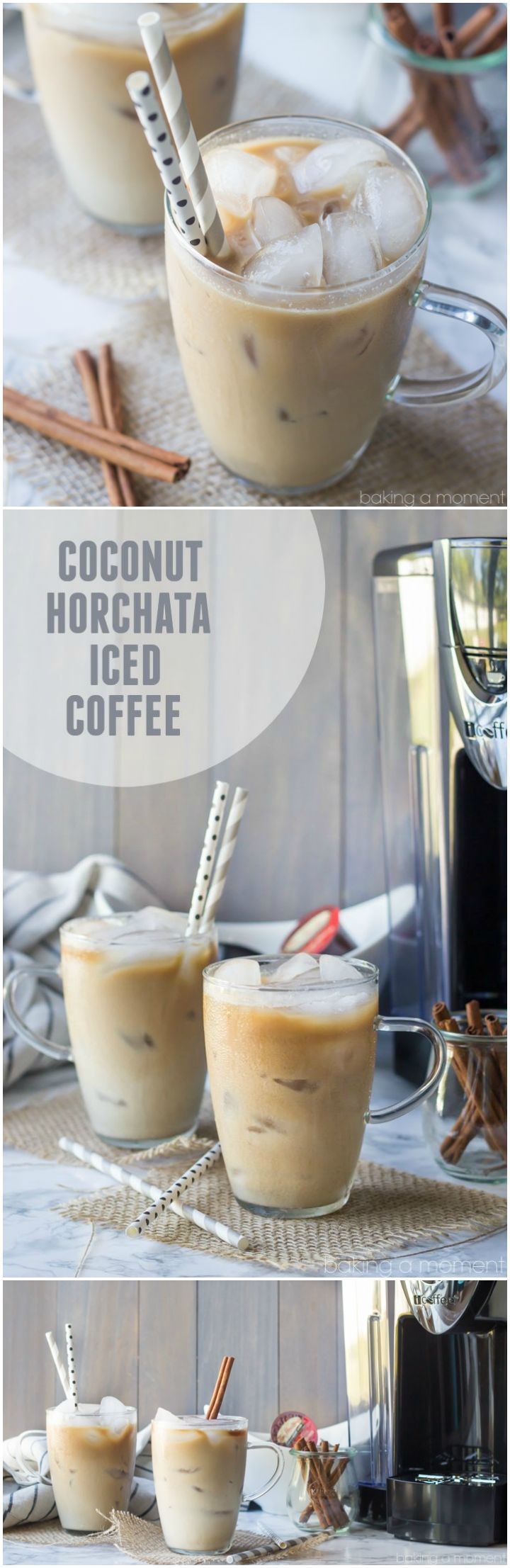 Coconut Horchata Iced Coffee: This iced coffee is so creamy I could hardly believe it was dairy-free. Loved those hints of coconut, almond, and cinnamon too!