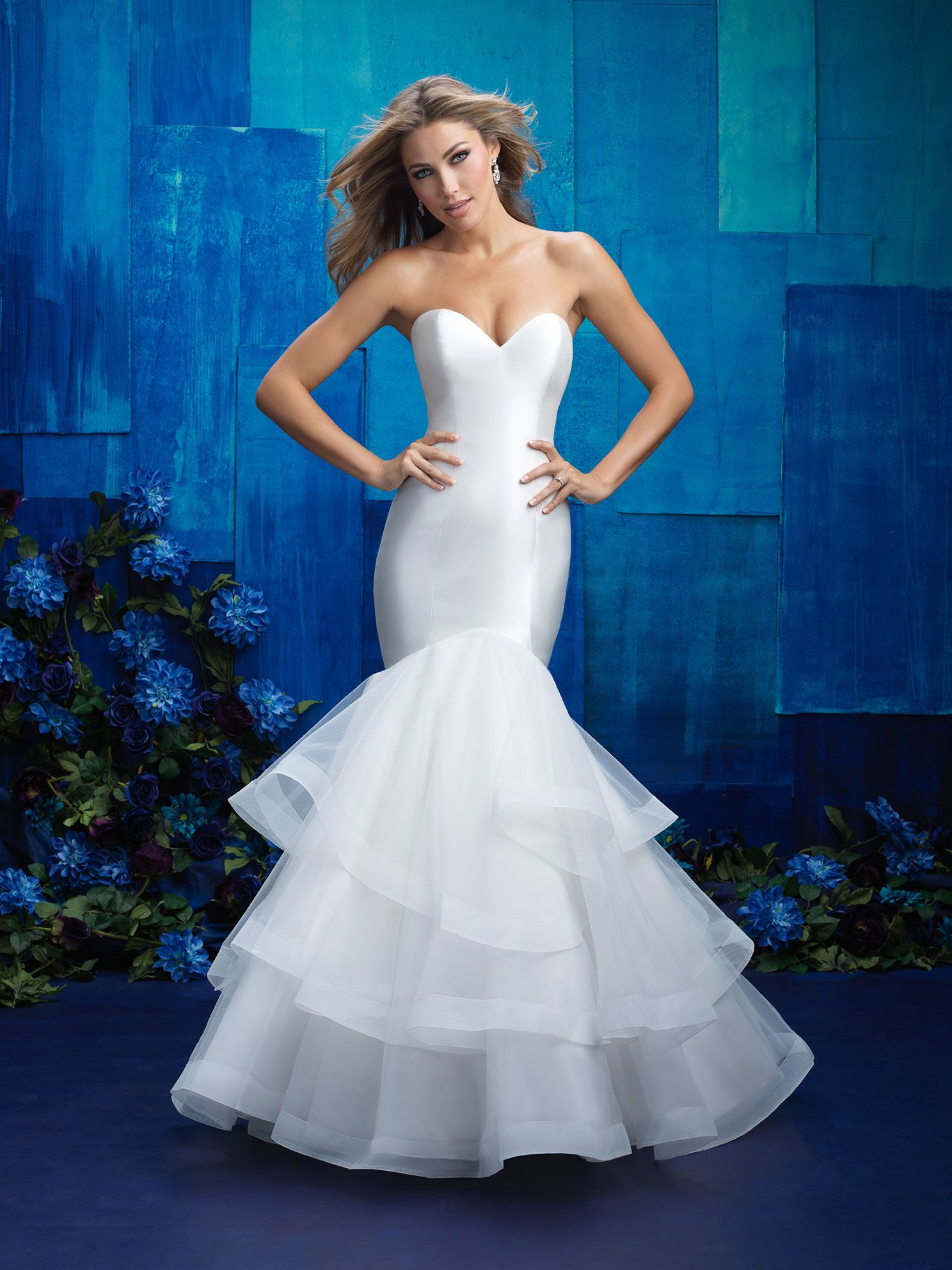 Allure Bridals: Style: 9416 | wedding dresses | Pinterest | Allure ...