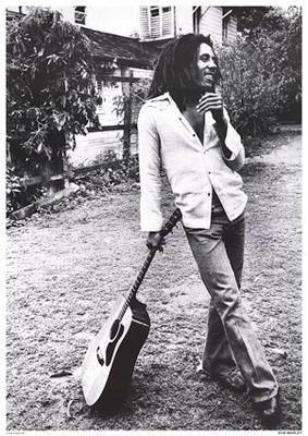 """Bob Marley """"Get up, stand up, don't give up the fight"""""""