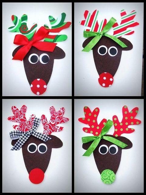 Idées de cartes de Noël   Wooloo | Preschool christmas, Christmas