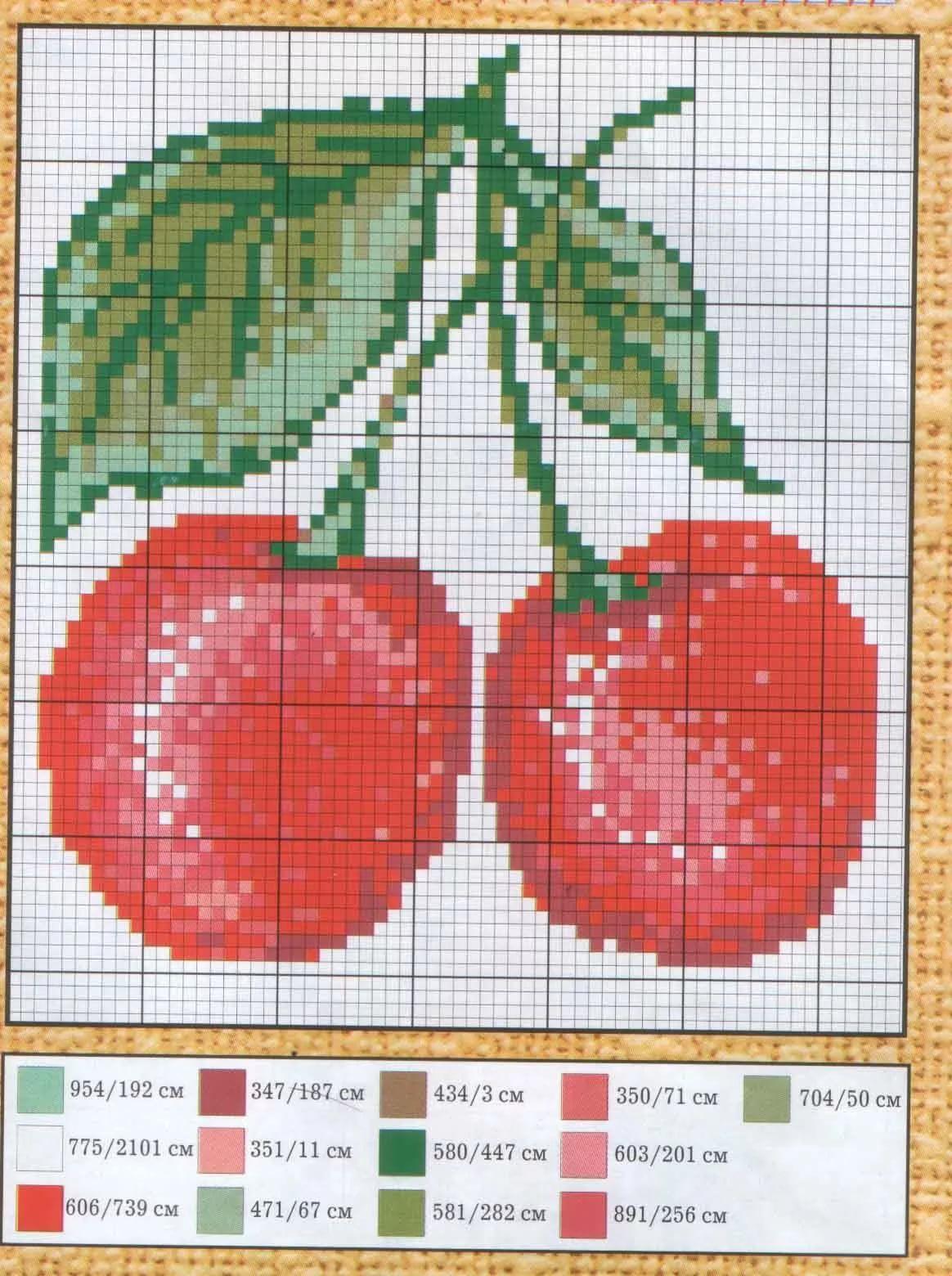схемы вышивки разных овощей: 10 тыс изображений найдено в ...